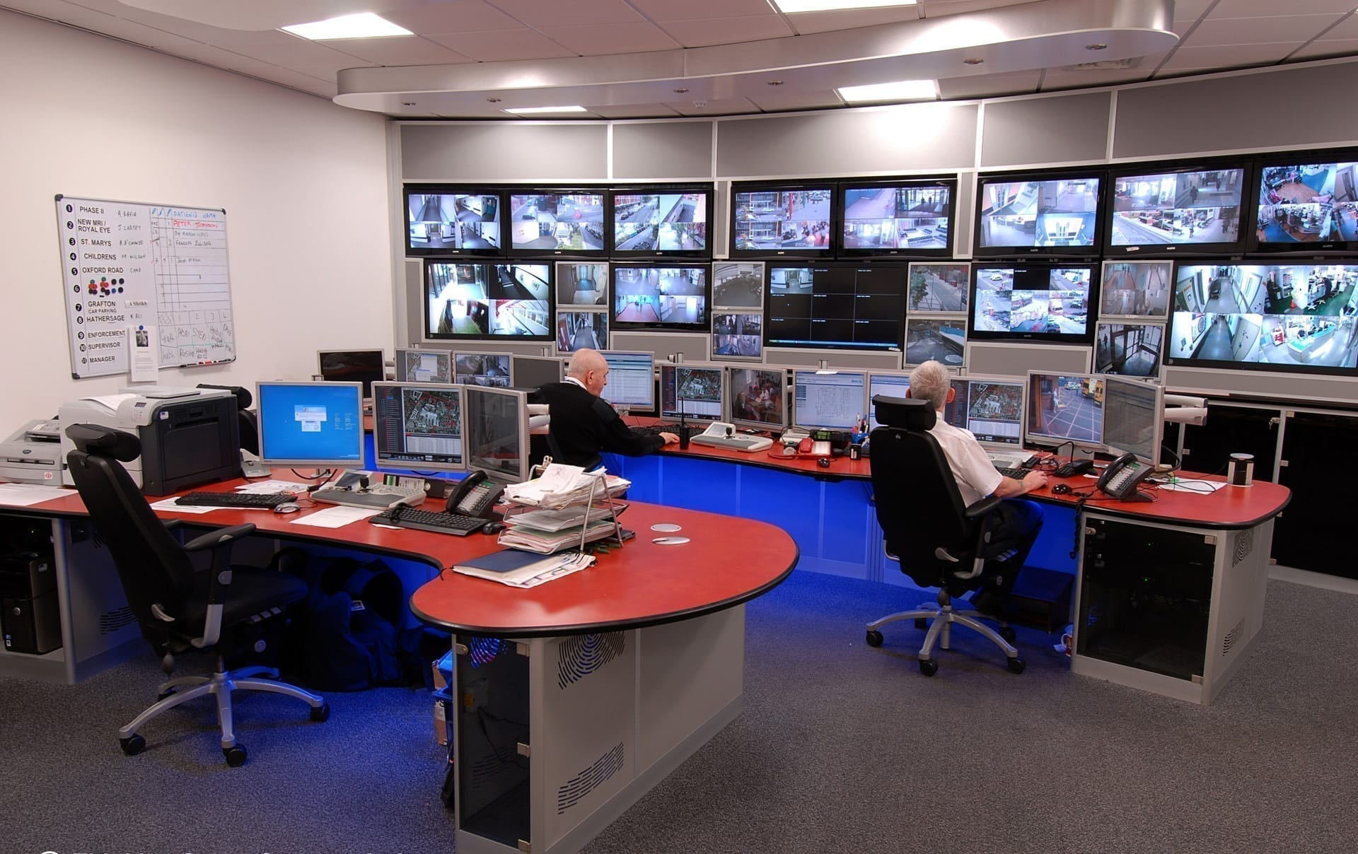 Manchester MRI control room Thinking Space Systems