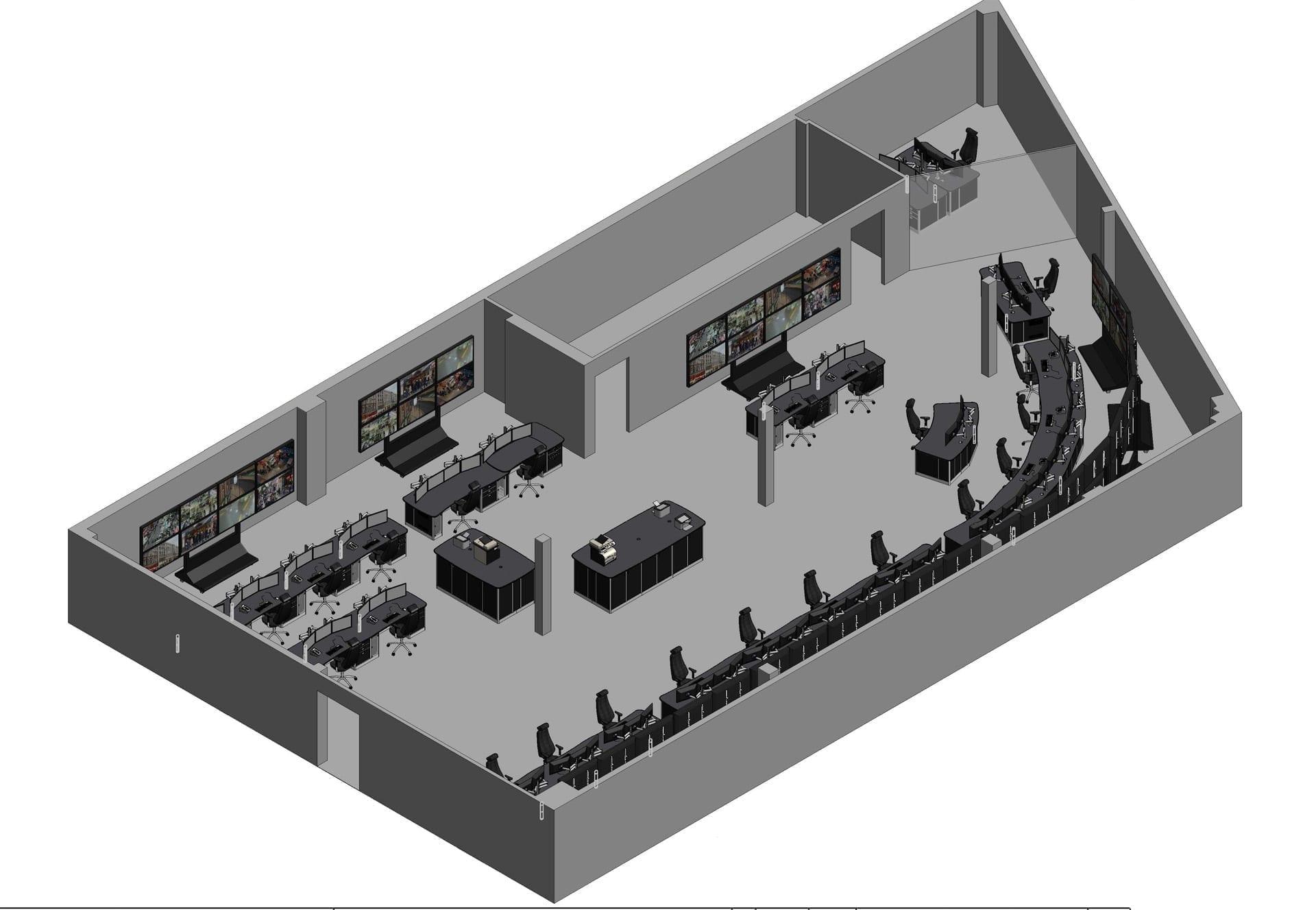 glasgow GOC 3D drawing