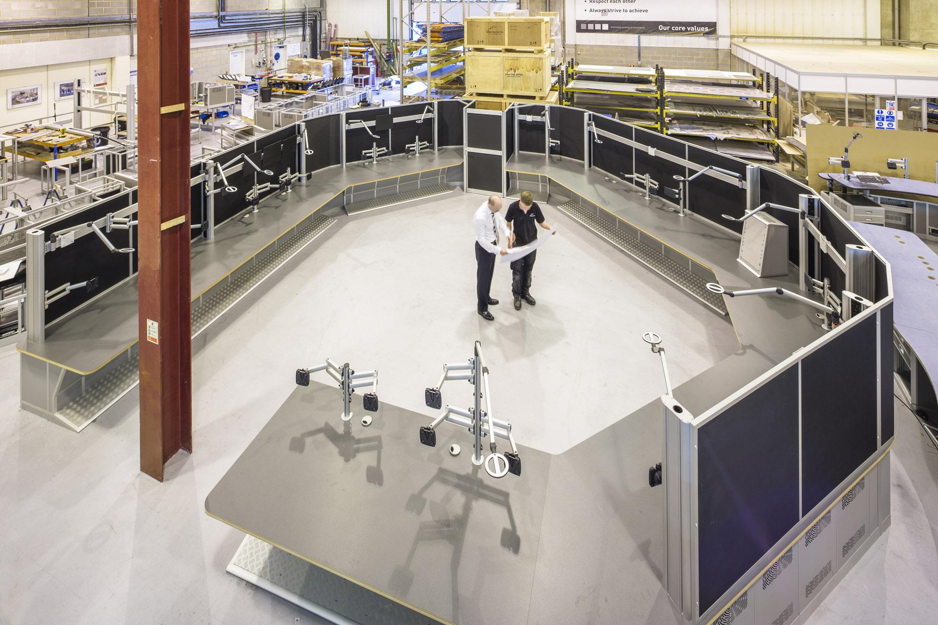 radar control room example