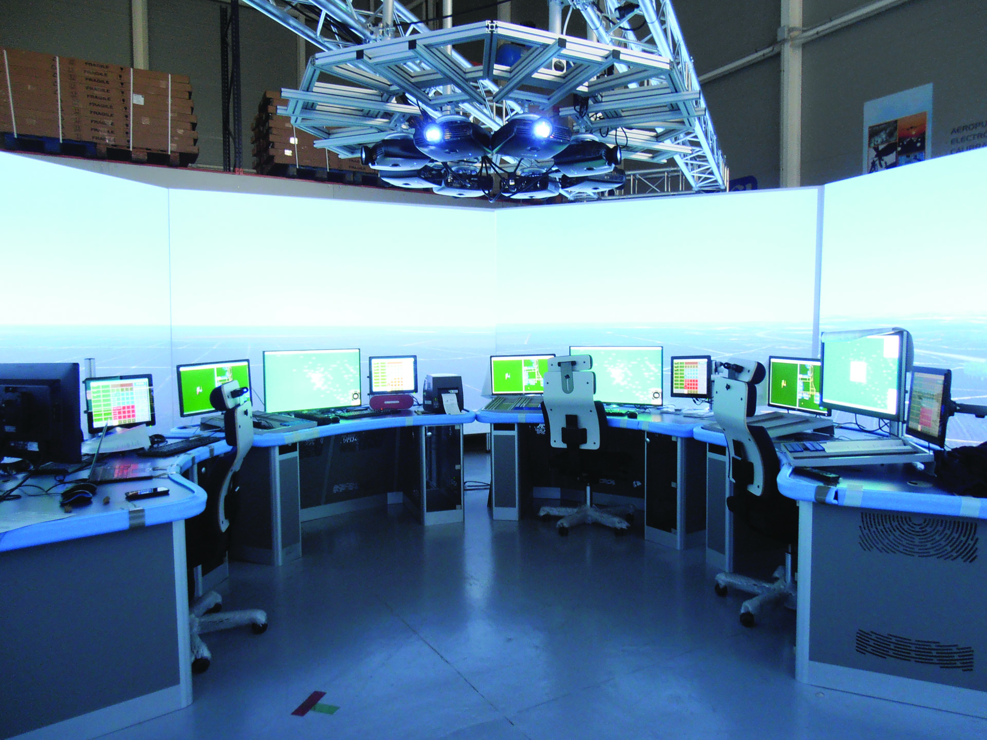 tower simulator example