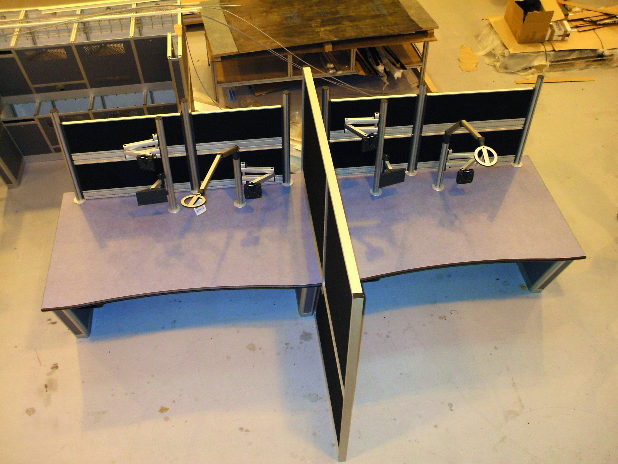 training desk pair example