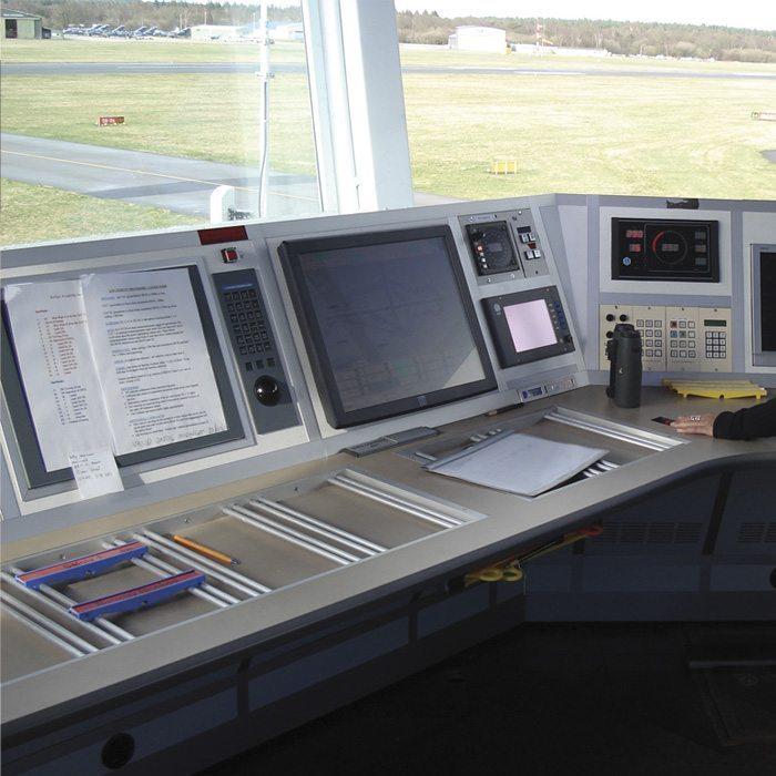 Flight strip holders