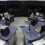 ATC simulator training rig mockup image