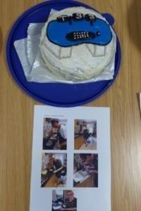 Paul A cake