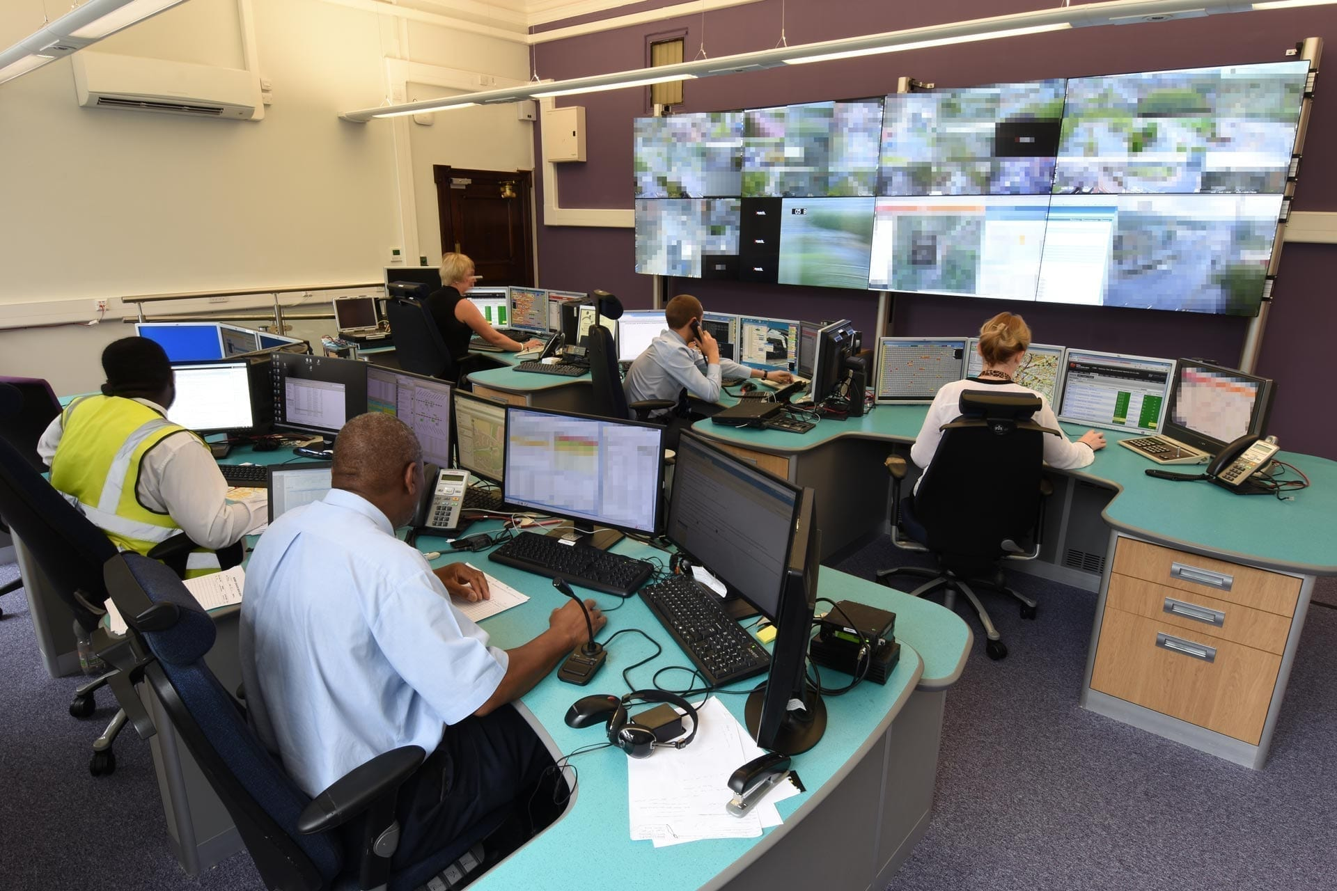Sheffield Urban Traffic Centre control room relocation
