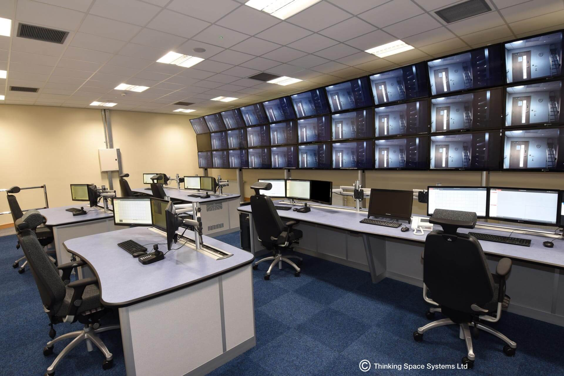 Blackburn Emergency Control Room