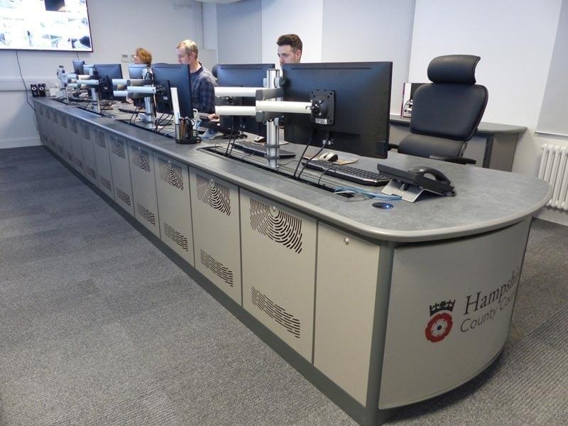 hampshire-council-council traffic control room
