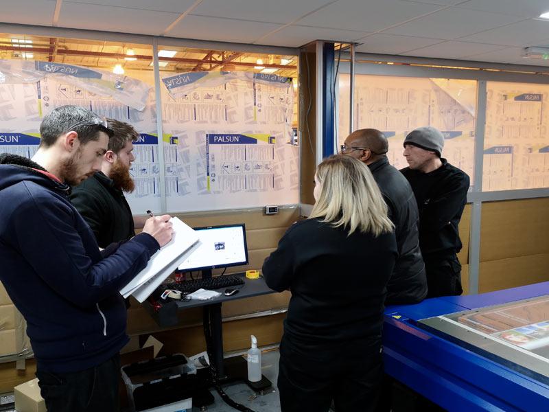 printer training at thinking space
