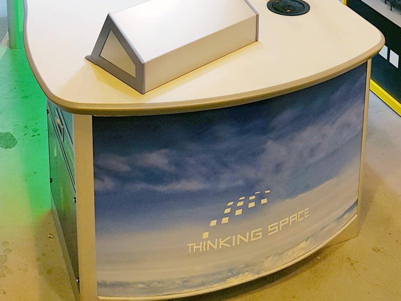 radar console printed panels