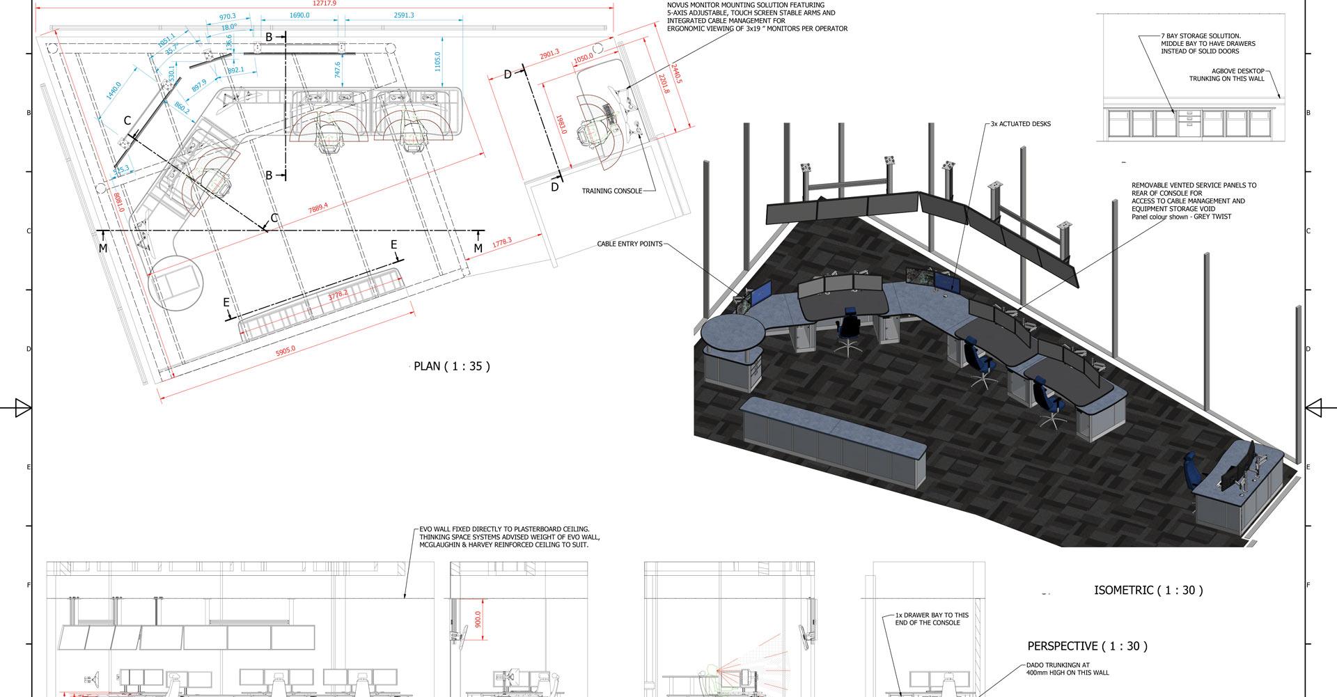 2D drawing Tamar Bridge
