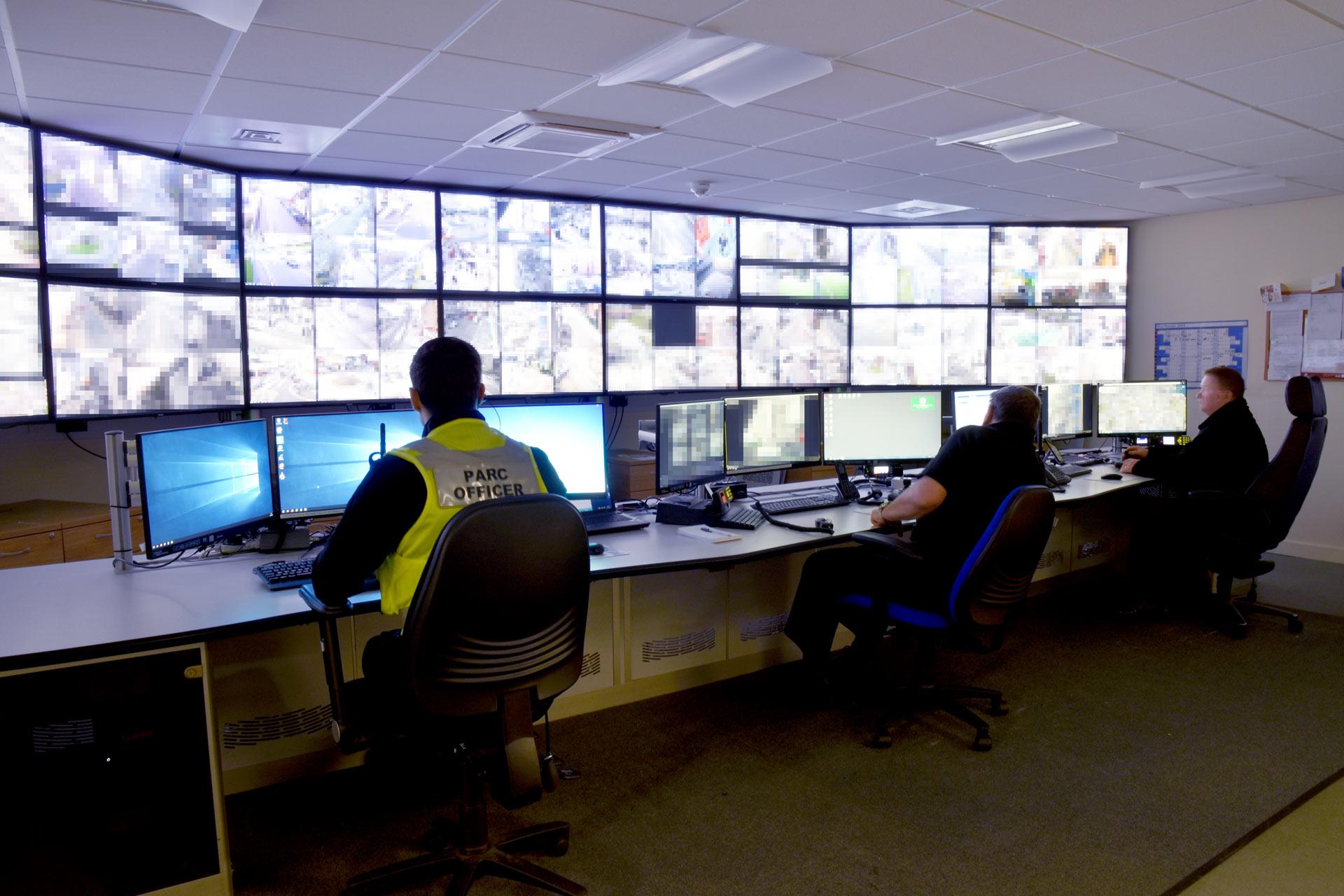 plymouth city council cctv control room