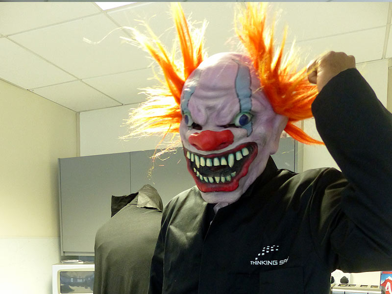 Scary Clown Patrick